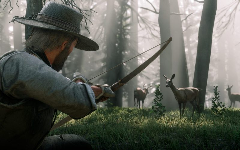 See how Fridai will help you with hunting in RDR2